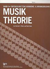 Nusiktheorie von Charles S. Peters und Paul Yoder Kjos Verlag Band 6 - Bd.6