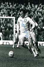 PAUL MADELEY RARE HAND SIGNED 6x4 inch  PHOTO COA LEEDS UNITED AUTOGRAPH