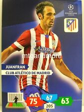 Adrenalyn XL Champions League 13/14 - juanfran-Club Atletico de Madrid