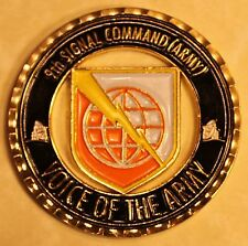 9th Signal Command Voice of the Army Challenge Coin