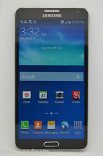 Samsung Galaxy Note 3 SM-N900A 32GB Black UNLOCKED GSM T-MOBILE AT&T METRO PCS