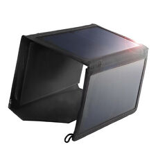 Multi Purpose Foldable 5V15W Sunpower Solar Panel Charger Pack for cell phone