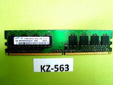Samsung 512MB 1Rx8 PC2 4200U M378T6553CZ3-CD5, 240Pin #KZ-563