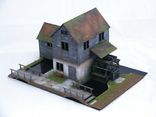 OLD EUROPE WATERMILL 28mm Laser cut MDF kit H001