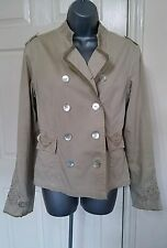 WOMEN BLAZER 12 40 MEDIUM M COTTON VINTAGE BOHO GYPSY QUIRKY JACKET LADIES NEXT