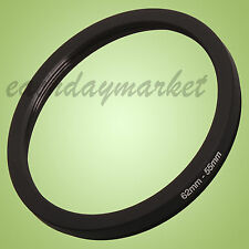 62mm to 55mm 62-55mm 62mm-55mm 62-55 Stepping Step Down Filter Ring Adapter