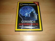 CEREBROS ASOMBROSOS DOCUMENTAL DE NATIONAL GEOGRAPHIC EN DVD NUEVO PRECINTADO