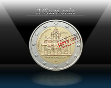 "GREECE 2 EURO 2016 ""Arkadi Monastery Torching"" Commemorative Coin * UNCIRCULATED"