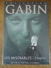 / NEUF LES MISERABLES 2E PARTIE LE CHANOIS BOURVIL BLIER COLLECTION 42 DVD GABIN