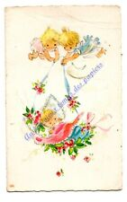 FAIRE PART DE NAISSANCE vierge Old card
