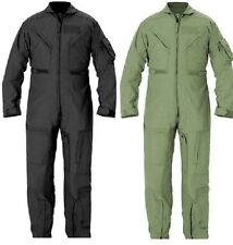 FLIGHTSUIT PILOT US NAVY AIR FORCE STYLE COVERALLS  ALL COLORS SIZE XS TO 3XL