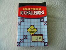 Brain Workout IQ Challenges 570+ Puzzzles ISBN 978-1-4351-4244-2