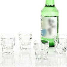 Drinking glass sets shot glasses for soju liquor Casablanca Drinking Glass 4P