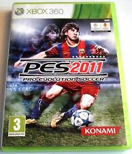 Pro Evolution Soccer PES 2011 for Xbox 360 - with box & manual