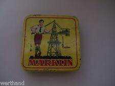 Blechschachtel von Märklin Schachtel  Dose Märklin Blechdose mit Inhalt #55