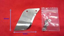 Aluminum hydro turn fin RC Boat 42x67mm