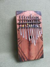 AFRICAN ART MUSIC TRADITIONAL KALIMBA MBIRA FAIR TRADE KENYA SOUVENIR QUALITY C