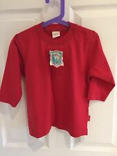 BNWT Oilily T-shirt Size 86 (18-24m) Red Long-sleeved Designer RRP £35 FREE P&P