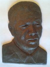 NELSON MANDELA MADIBA SCULPTURE PORTRAIT COLLECTIBLE ART