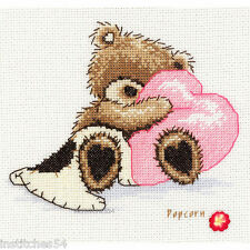 Vervaco Popcorn Bear Cross Stitch Kit  Dreaming