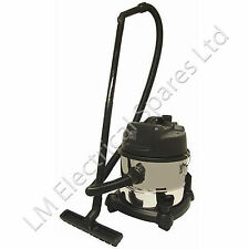 Commercial 15 Litre Cylinder 1200 Watt Wet & Dry Vacuum Cleaner Warm Air Blower
