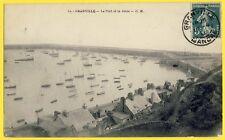cpa 50 - GRANVILLE (Manche) Le PORT et la JETÉE en 1911 Nombreux Bateaux