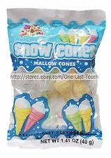 ALBERT'S^1.41 oz Bag SNOW CONES Marshmallow Candy ICE CREAM Individually Wrapped