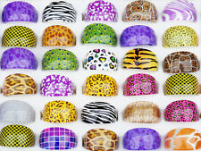 Pretty Wholesale 20pcs Mix Resin Animals Skin Styles Costume Rings Bulk Lots