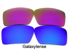 Galaxy Replacement Lenses For Oakley Eyepatch 1&2 Purple&Blue Polarized 2Pairs