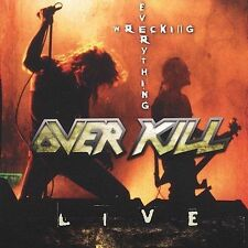 "Overkill ‎""Wrecking Everything (Live)"" CD SEALED Thrash Metal"
