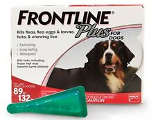 NEW EPA Approved Frontline Plus for 89 - 132 lbs dogs XL 40-60 Kgs 1 Month Dose