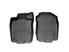 WeatherTech® Custom Designed FloorLiner - Part # 441081 - 1st Row - Black