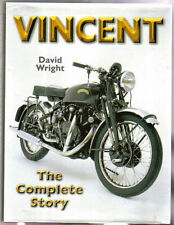 Vincent Complete Story Motorcycle Road Riding Racing Speedway 1928 on by Wright
