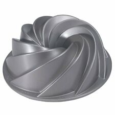 Nordic Ware Platinum Collection Heritage Bundt Cake Pan Mold Tin, Non-stick,New