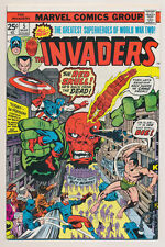 INVADERS #5 Near Mint, Jack Kirby, Red Skull, Captain America, Marvel Comics '76