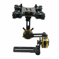 DYS Aluminium Alloy 3Axis Brushless Gimbal Camera PTZ Kit+3pcs Motor f/ NEX ILDC
