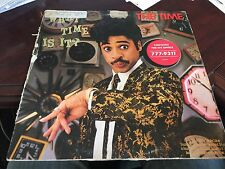 THE TIME WHAT TIME IS? LP 1982 WARNER BROS 23701-1 INNER DJ PROMO