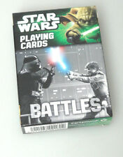 (PRL) STAR WARS BATTLES PLAYING CARDS CARTAMUNDI COLLECTION CARTE COLLEZIONE