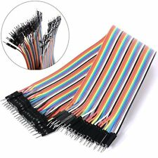 40PCS DuPont Wire Jumper Connect Wire Male to Male 1P-1P 2.54mm Length 20CM