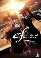 Ef . A Tale Of Melodies . The Complete Season 2 . Anime . 2 DVD . NEU