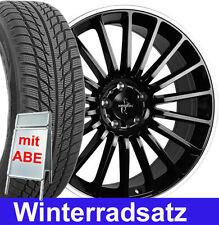 """17"""" ABE Keskin KT15 E48 Winterräder 225 Winterreifen für VW Golf 7 R R-Line AU"""