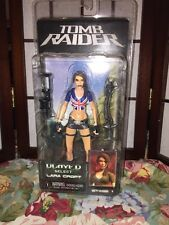 "TOMB RAIDER UNION JACK LARA CROFT 7"" ACTION FIGURE (NECA, NEW, RARE)"