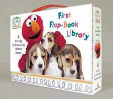 Sesame Street Elmo's World: First Flap-Book Library by Random House Editors,...