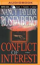 Conflict of Interest by Nancy Taylor Rosenberg (2015, MP3 CD, Unabridged)