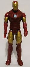 "Marvel Hasbro 2013 Iron Man Poseable Toy Figure Doll 11"" Stands Red Gold Boys"
