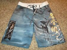 Mens Affliction Swimming Board Shorts Sz 31 FREE SHIPPING