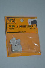 Wheel Works 96-137 Railway Express Truck Metal Model Kits N scale
