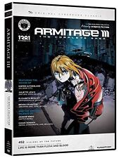 Armitage III . The Complete Saga . 4 OVA's + 2 Movies . Anime . 3 DVD . NEU