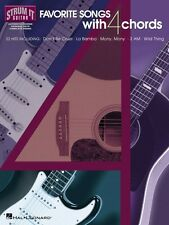 Favorite Songs with 4 Chords Sheet Music Strum It Guitar NEW 000699270