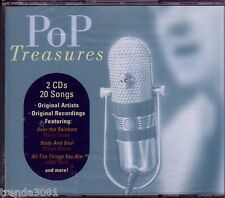 POP TREASURES 2CD Classic 50s 60s KATE SMITH GLENN YARBROUGH PAUL ANKA New